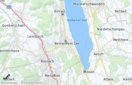 Stadtplan Beinwil am See