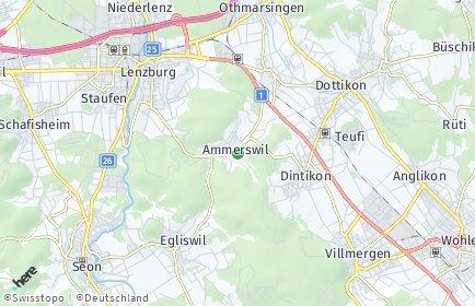 Stadtplan Ammerswil