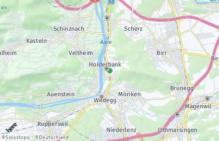Stadtplan Holderbank (AG)