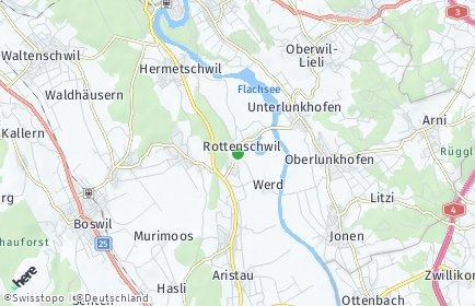 Stadtplan Rottenschwil