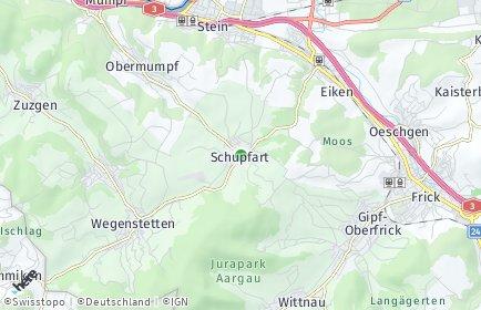 Stadtplan Schupfart