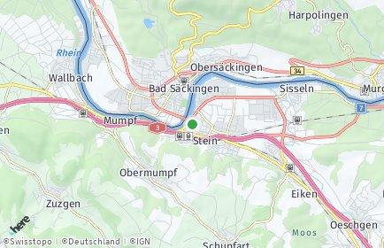 Stadtplan Stein (AG)