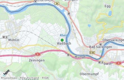 Stadtplan Wallbach