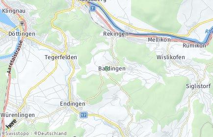 Stadtplan Baldingen