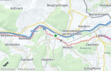 Stadtplan Kaiserstuhl