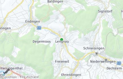 Stadtplan Lengnau (AG)
