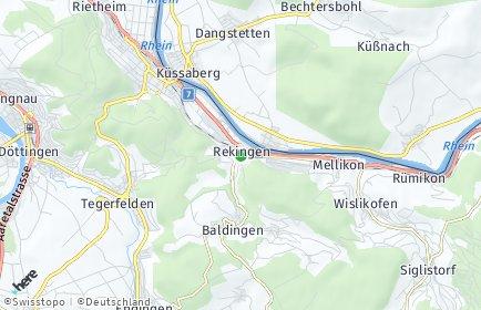 Stadtplan Rekingen