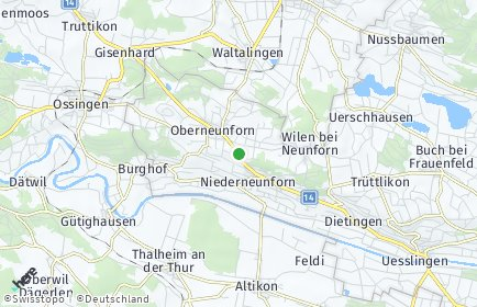 Stadtplan Neunforn