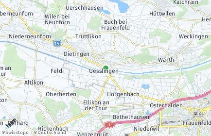 Stadtplan Uesslingen-Buch