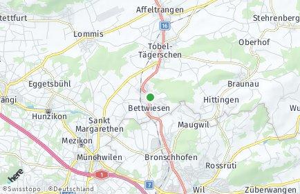 Stadtplan Bettwiesen