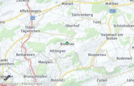 Stadtplan Braunau