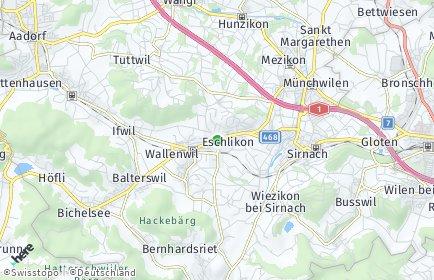 Stadtplan Eschlikon