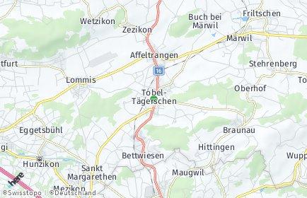Stadtplan Tobel-Tägerschen