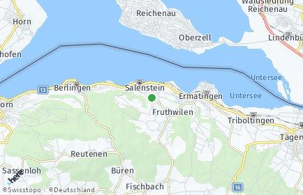 Stadtplan Salenstein