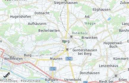 Stadtplan Berg (TG)