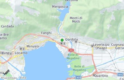 Stadtplan Tenero-Contra