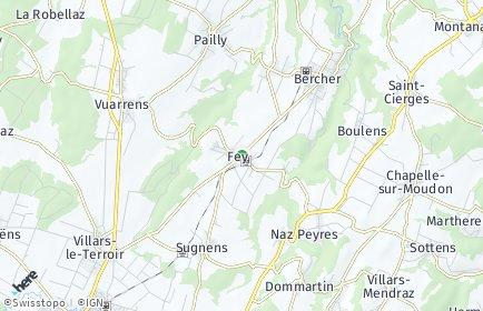 Stadtplan Fey