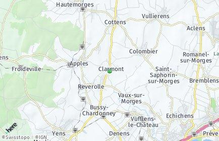 Stadtplan Clarmont