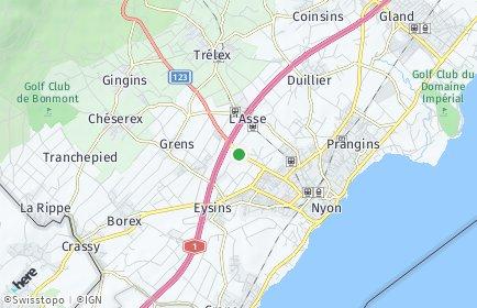 Stadtplan Signy-Avenex
