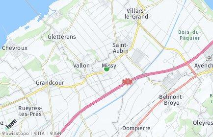 Stadtplan Missy