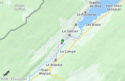 Stadtplan Le Chenit