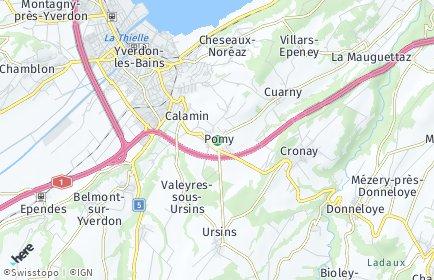 Stadtplan Pomy