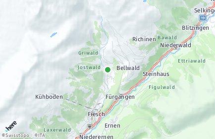 Stadtplan Fieschertal