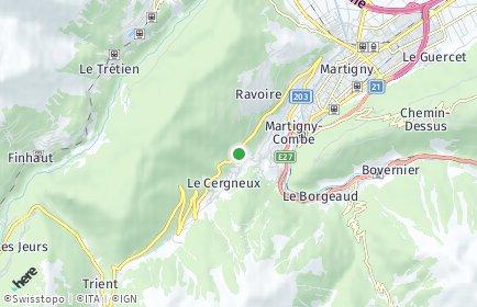 Stadtplan Martigny-Combe