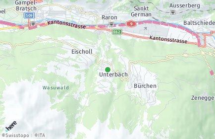 Stadtplan Unterbäch