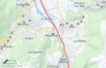 Stadtplan Massongex