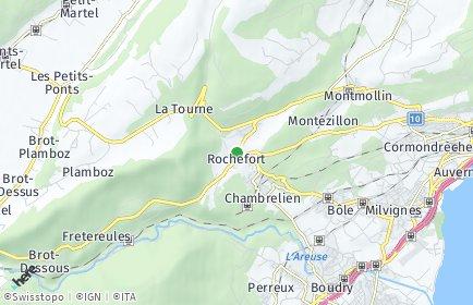 Stadtplan Rochefort