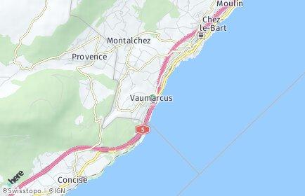 Stadtplan Vaumarcus