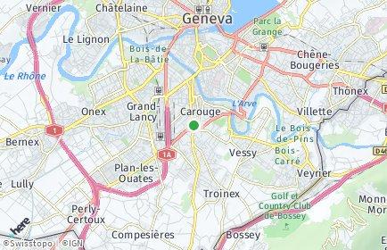Stadtplan Carouge (GE)