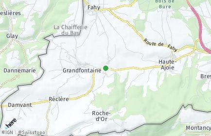 Stadtplan Rocourt
