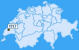 PLZ 1117 Schweiz
