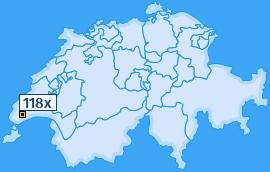 PLZ 118 Schweiz