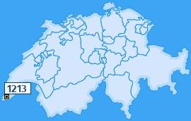 PLZ 1213 Schweiz
