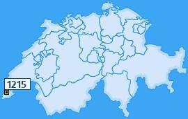 PLZ 1215 Schweiz