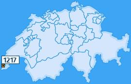 PLZ 1217 Schweiz