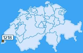 PLZ 1218 Schweiz