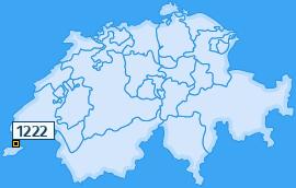 PLZ 1222 Schweiz