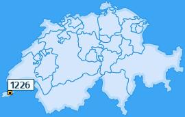 PLZ 1226 Schweiz