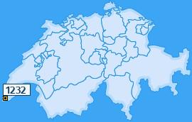 PLZ 1232 Schweiz