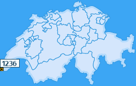 PLZ 1236 Schweiz