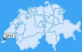 PLZ 1247 Schweiz
