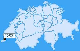 PLZ 1252 Schweiz