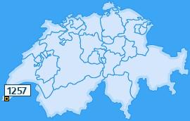 PLZ 1257 Schweiz