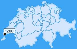 PLZ 1260 Schweiz