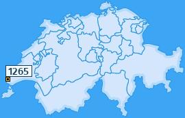 PLZ 1265 Schweiz