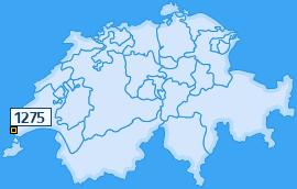 PLZ 1275 Schweiz